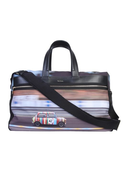 Paul Smith Mini Print Travel Bag