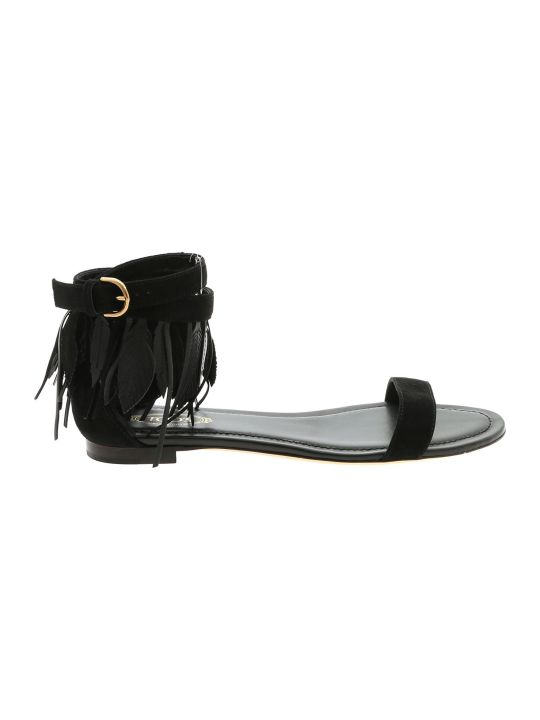 Tod's Fringed Sandals