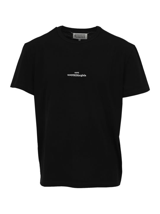 Maison Margiela Martin Margiela Upside-down Logo T-shirt