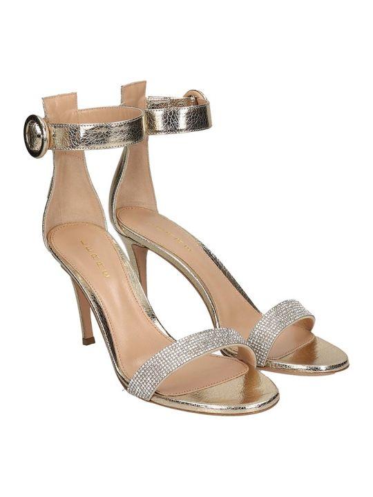 Lerre Sandals In Platinum Leather
