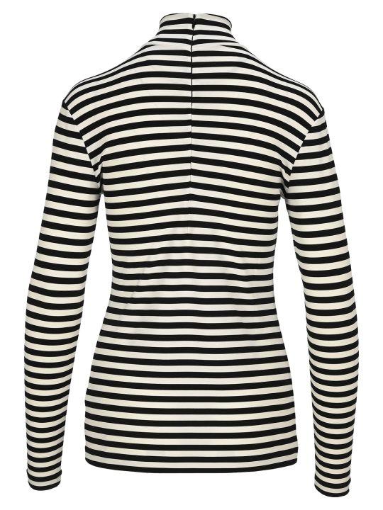 Burberry London Striped Turtleneck T-shirt