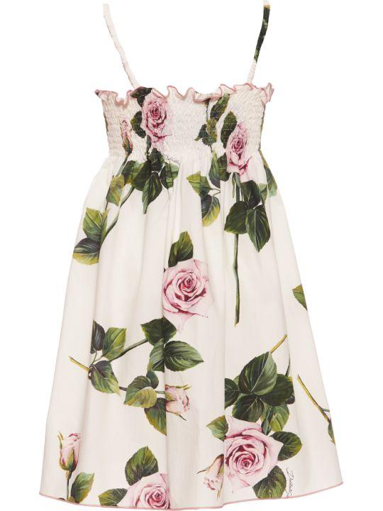Dolce & Gabbana Tropical Rose Dress