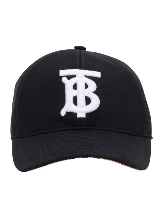 Burberry Check Baseball Cap Patch Tb