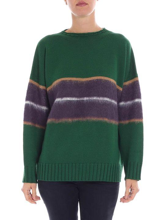 Altea Striped Knit Sweater