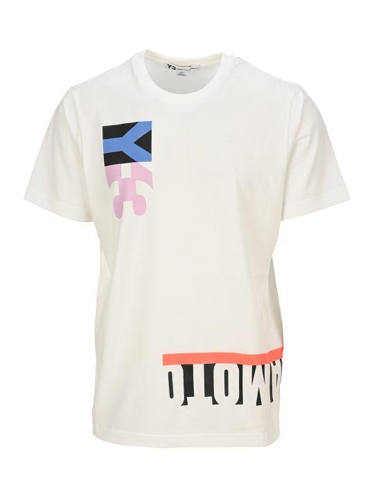 Y-3 Adidas Y3 Flag T-shirt