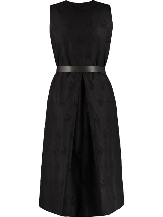 Max Mara Studio Axelle Georgette Dress