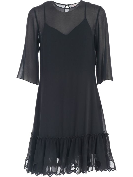 See by Chloé Dress 3/4s Bottom Rouches