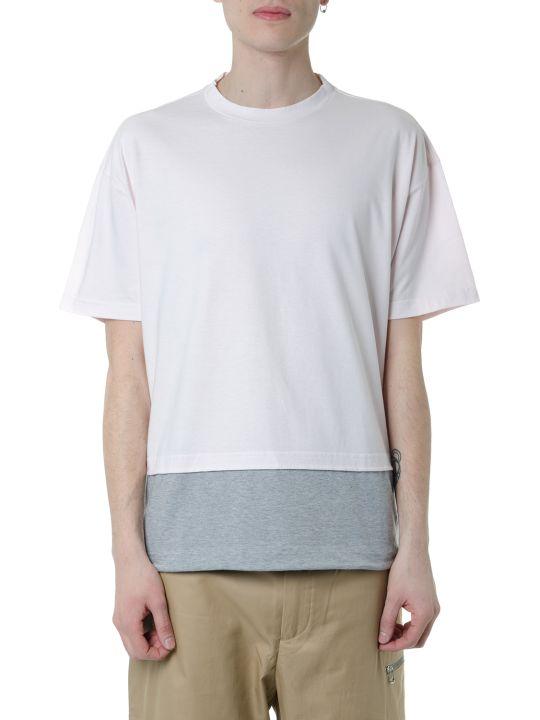 Marni White & Grey Layered Cotton T-shirt