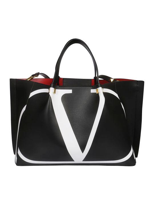 Valentino Logo Shopper Bag
