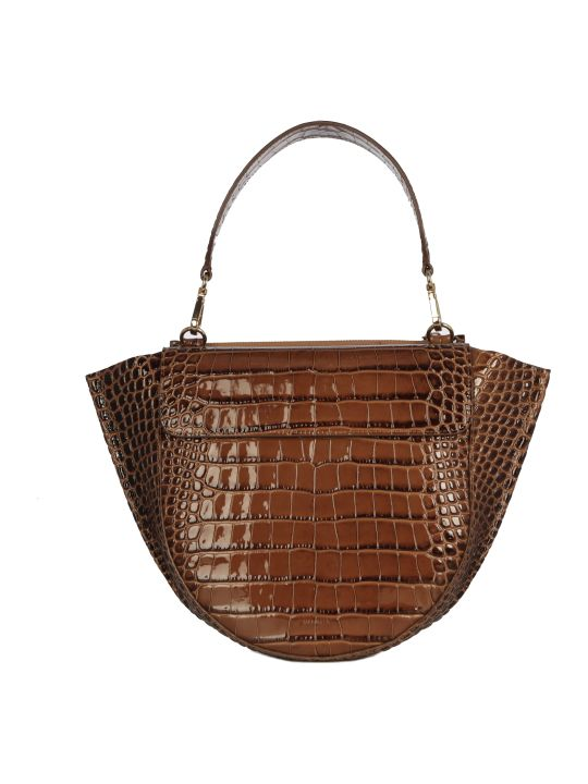Wandler Hortensia Bag Medium Croco Date