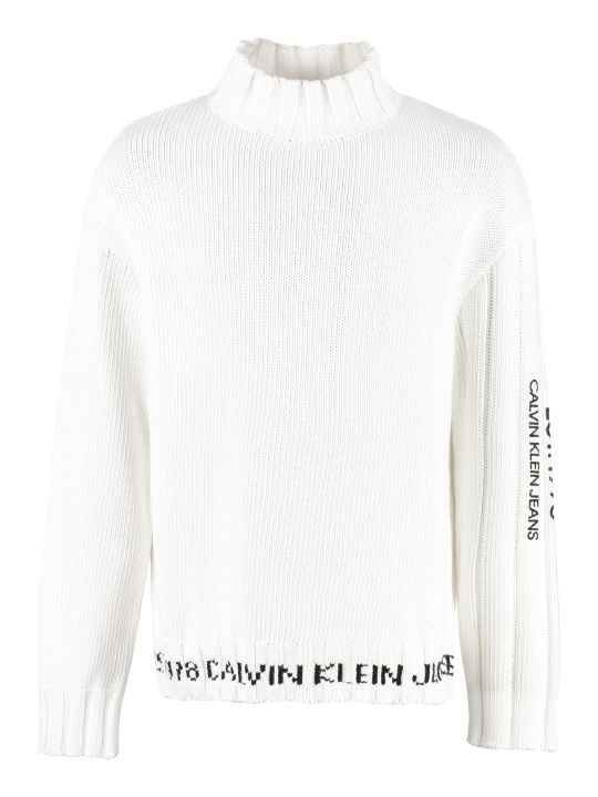 Calvin Klein Jeans Cotton Oversize Sweater