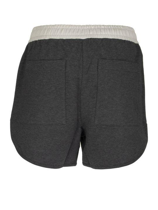 Brunello Cucinelli Stretch Cotton Lightweight French Terry Shorts