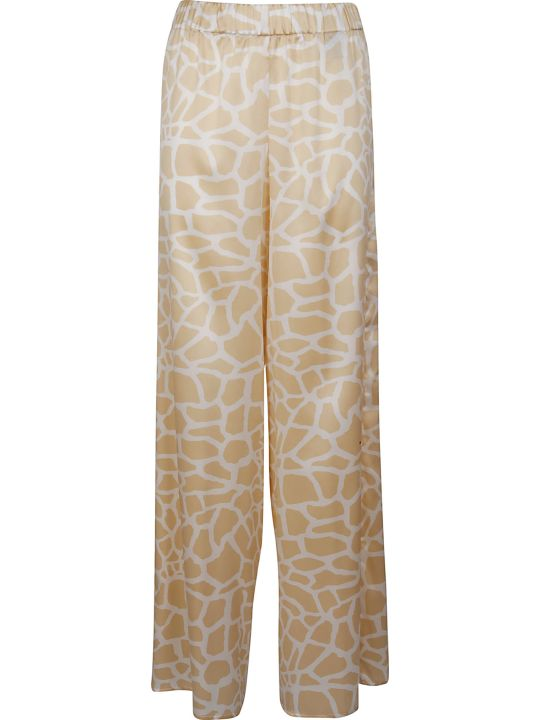Federica Tosi Printed Flared Trousers
