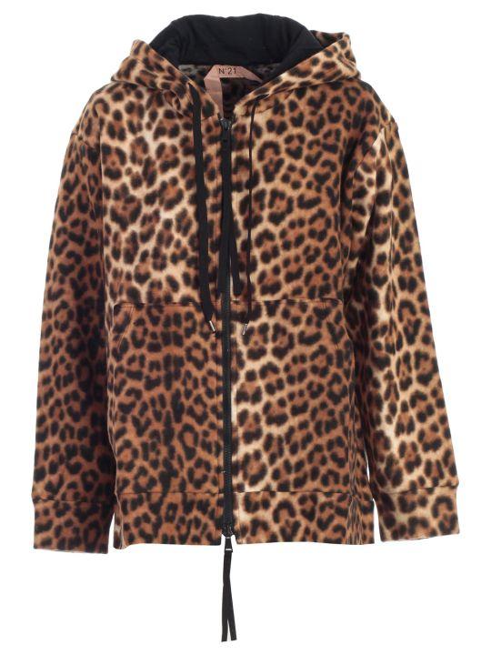 N.21 Sweatshirt Animalier