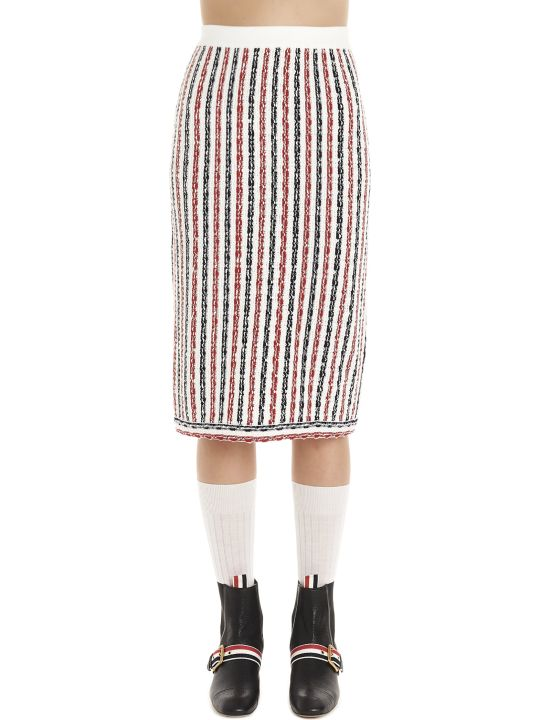 Thom Browne 'wide University' Skirt