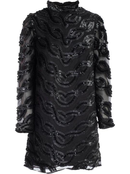 SEMICOUTURE Dress Agata Pencil Paillettes