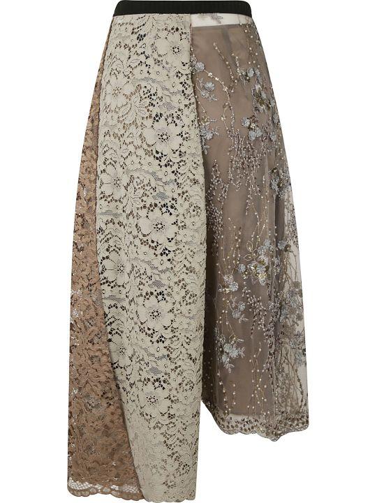 Antonio Marras Asymmetric Lace Skirt