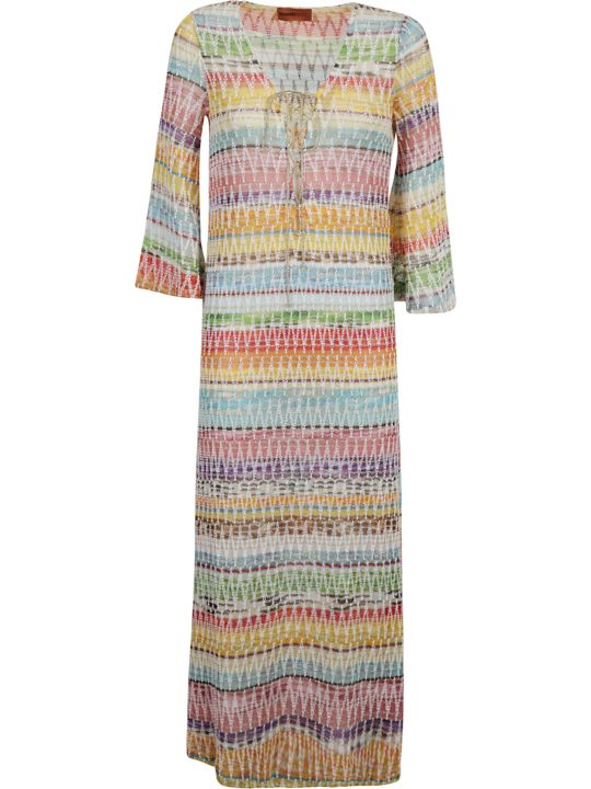 Missoni M Missoni Zigzag Maxi Dress