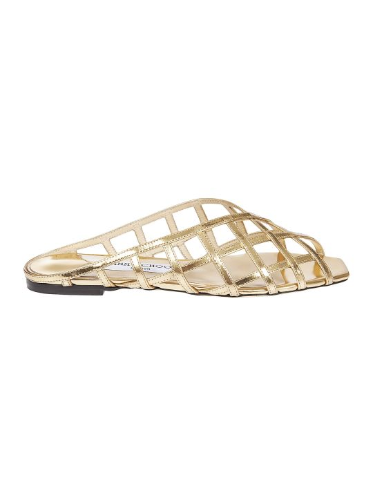 Jimmy Choo Criss-cross Sliders