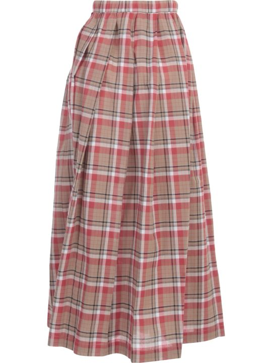 Aspesi Long Skirt Madras