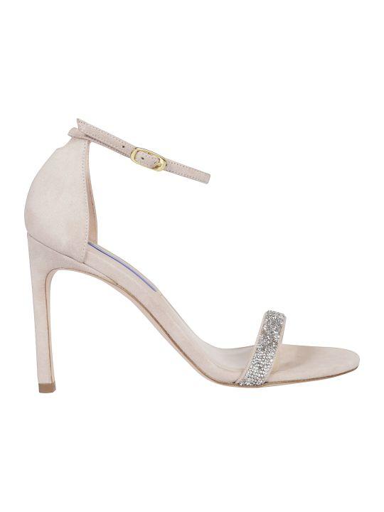 Stuart Weitzman Glitter Sandals