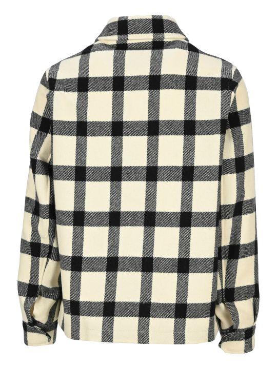 Ami Alexandre Mattiussi Ami Check Shirt Jacket