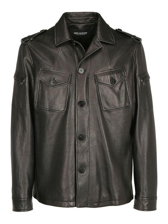 Neil Barrett Neil Barret Leather Jacket