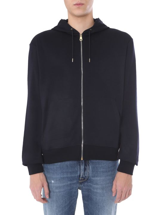 Paul Smith Hooded Sweatshirt With Zip