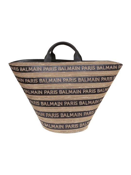Balmain Logo All-over Tote