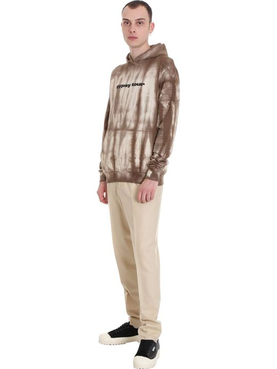 Danilo Paura Ardit Sweatshirt In Brown Cotton