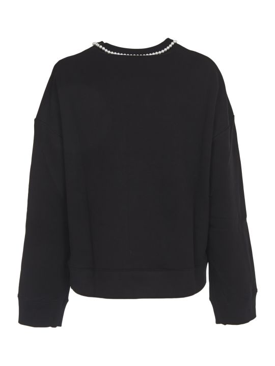 Vivetta Crewneck Sweatshirt With Pearl