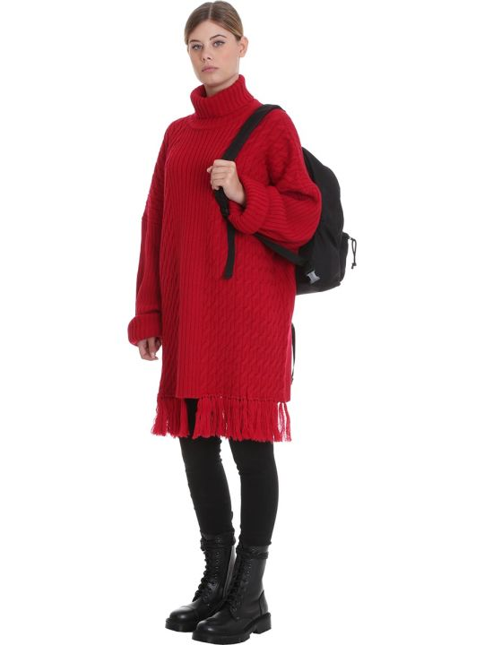 VETEMENTS Knitwear In Red Wool