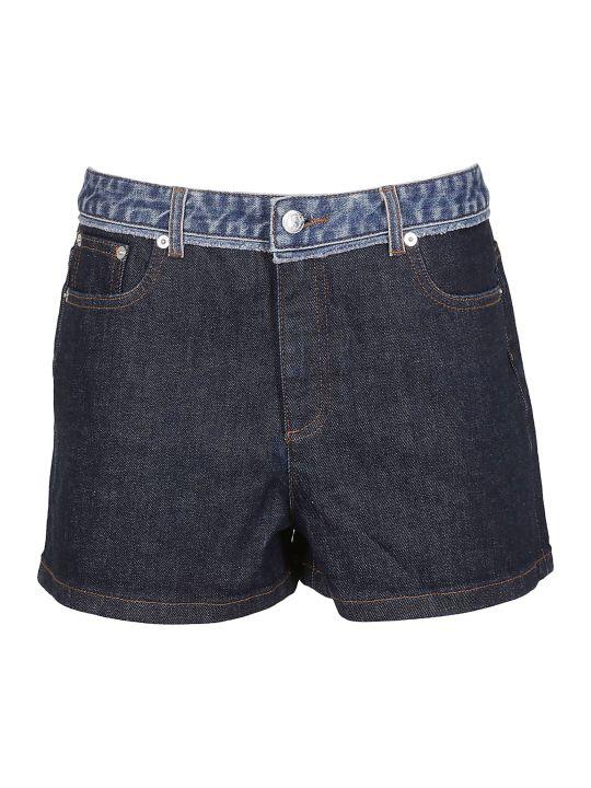 A.P.C. Paneled Denim Skirt