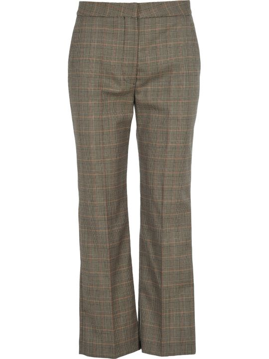 Stella McCartney Checked Flared Trousers