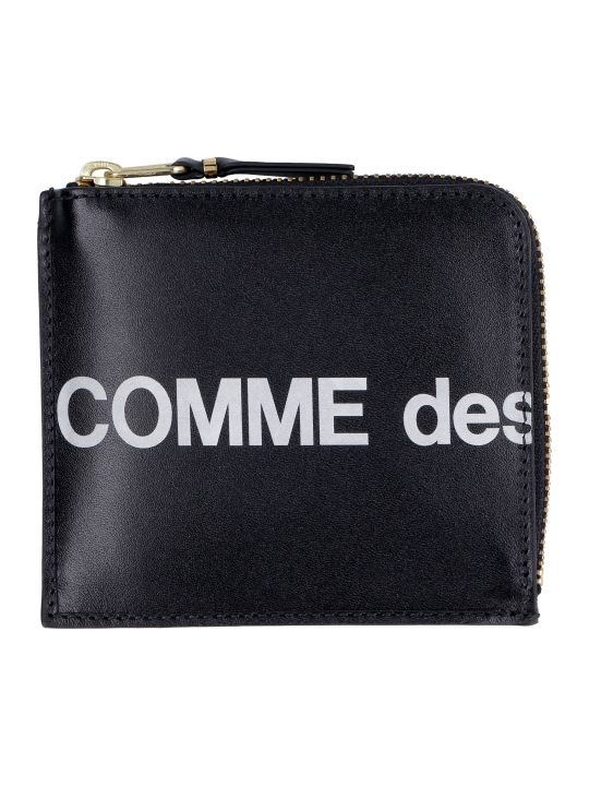 Comme des Garçons Wallet Leather Zipped Coin Purse