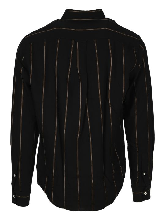 Ami Alexandre Mattiussi Ami Striped Print Shirt