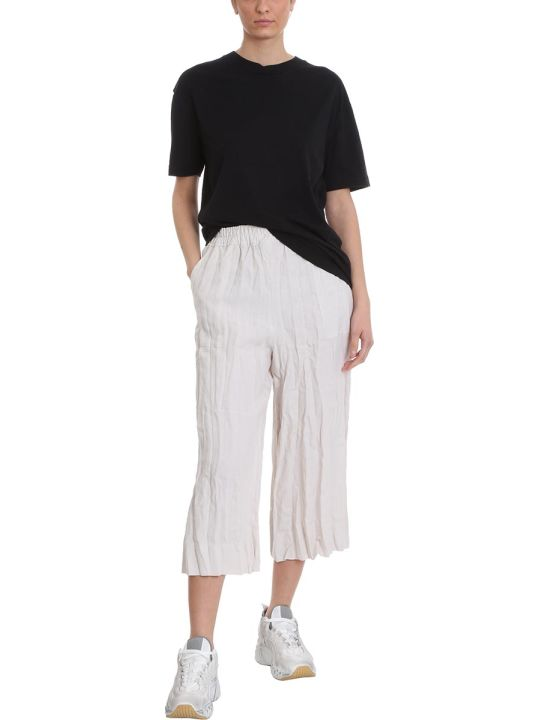 Acne Studios Parisa Pants In Beige Cotton