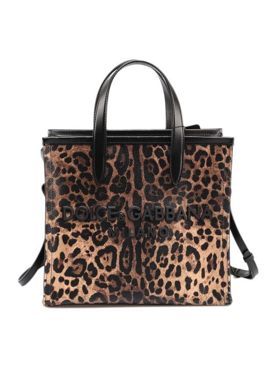 Dolce & Gabbana Crespo Leo Shopping Bag