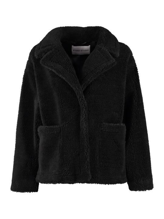STAND STUDIO Marina Faux Fur Jacket