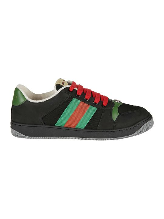 Gucci Striped Sneakers