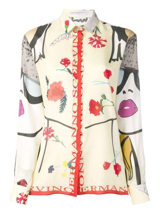Ermanno Scervino Slim Shirt Pop Print