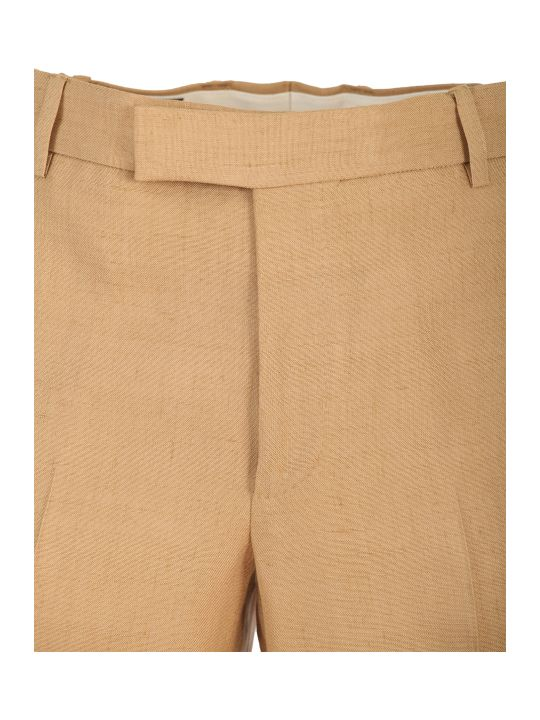 Gucci linen and viscose trousers