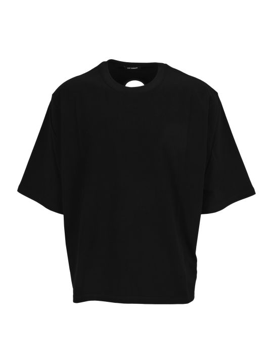 Raf Simons Raf Simons Cut-out Print T-shirt