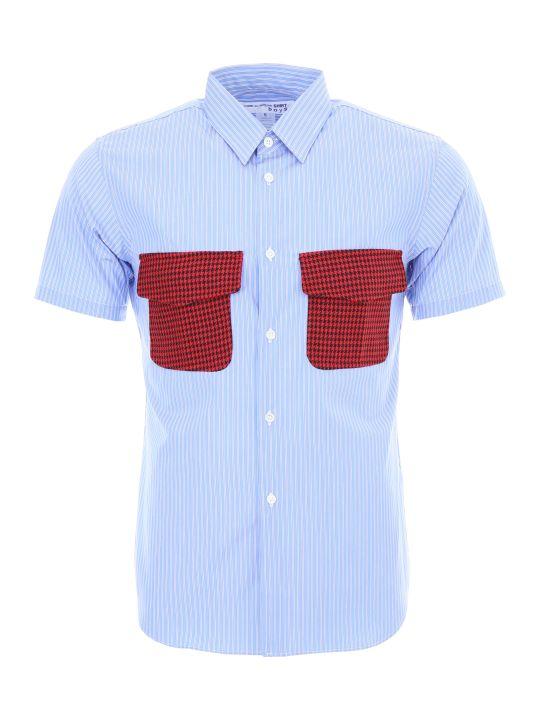 Comme des Garçons Boys Unisex Striped Shirt