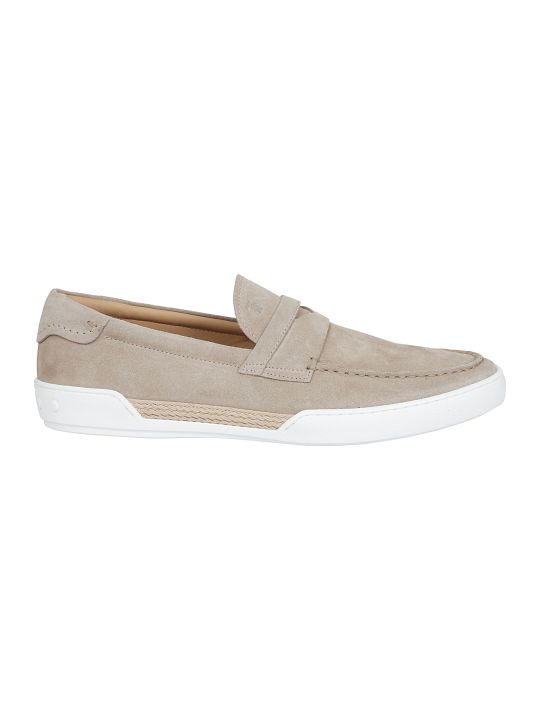 Tod's Flat Sole Slip-on Sneakers