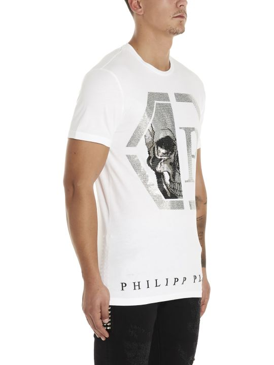 Philipp Plein 'esagonal Skull' T-shirt