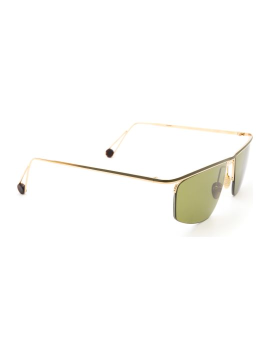 AHLEM Ahlem Place Des Pyrenees Champagne/green Sunglasses