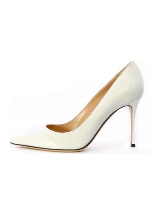 Sergio Rossi Godiva Décolleté White Leather