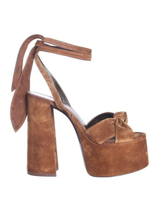 Saint Laurent Sandals With Plateau