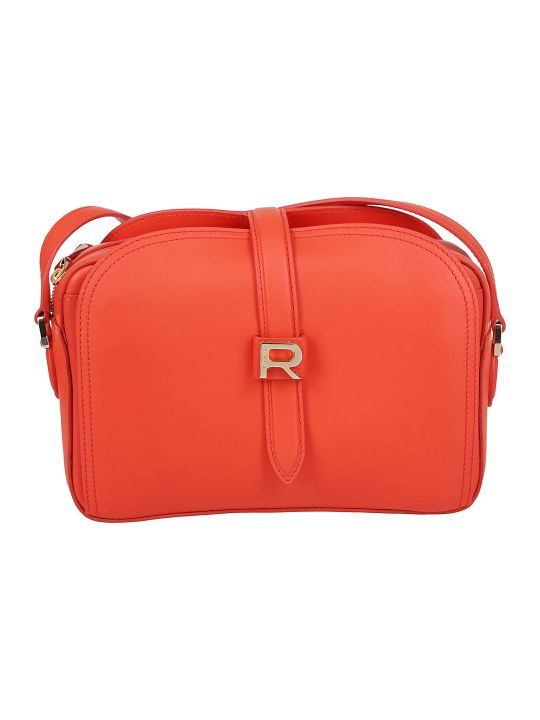 Rochas Logo Shoulder Bag